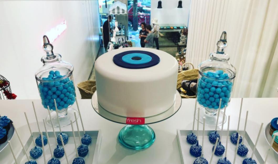Made in Greece ακόμη και η τούρτα - Το Fresh έφτιαξε το ωραιότερο γλυκό με μάτι για να μη σας βασκάνουν - Κυρίως Φωτογραφία - Gallery - Video