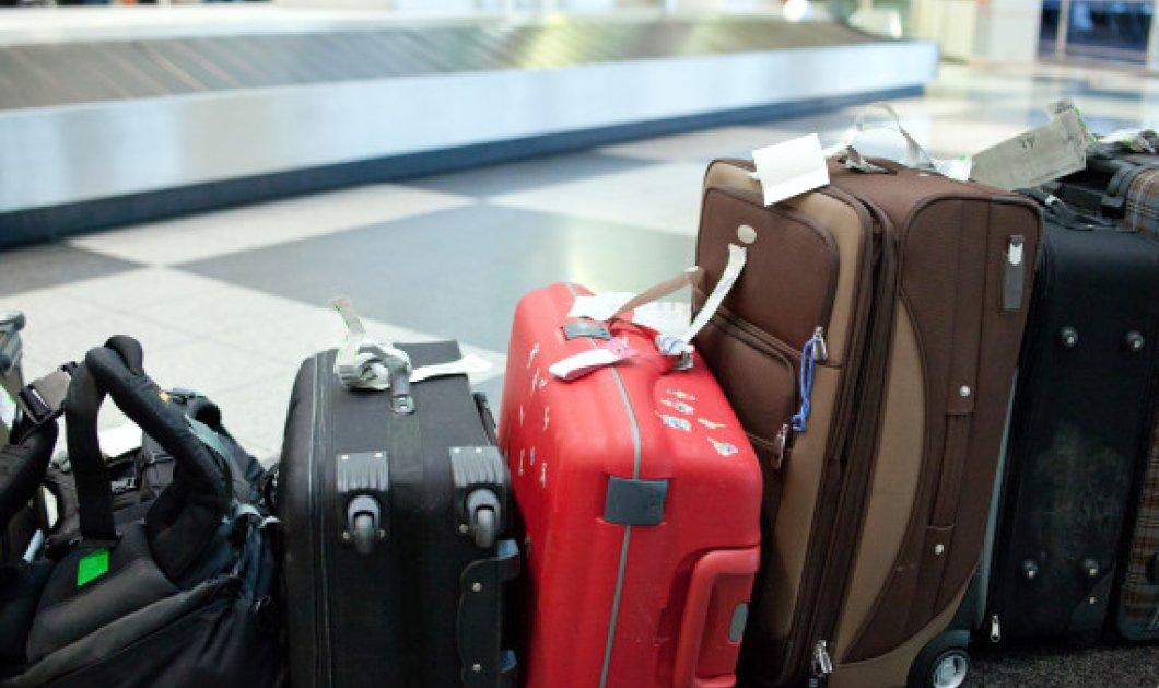 """Εργαζόμενος στο αεροδρόμιο Μακεδονία """"ξάφριζε"""" βαλίτσες επιβατών - Κυρίως Φωτογραφία - Gallery - Video"""