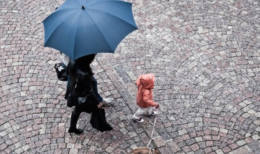 Μας τα χαλάει & σήμερα ο καιρός με βροχές & καταιγίδες - Κυρίως Φωτογραφία - Gallery - Video