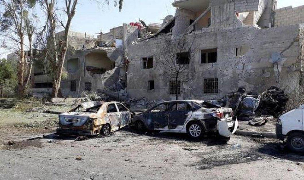 Βομβιστική επίθεση αυτοκτονίας συγκλόνισε την Δαμασκό- Δεκάδες νεκροί & τραυματίες - Κυρίως Φωτογραφία - Gallery - Video
