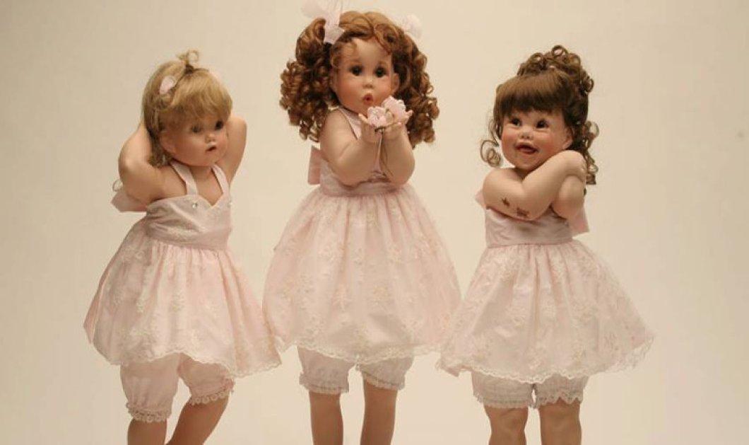 Made in Greece: Οι «αληθινές» πορσελάνινες κούκλες «Ερατώ» φτιάχνονται στο χέρι μία μία από την Σοφία Ζαχαράκη - Αποκλειστικό - Κυρίως Φωτογραφία - Gallery - Video