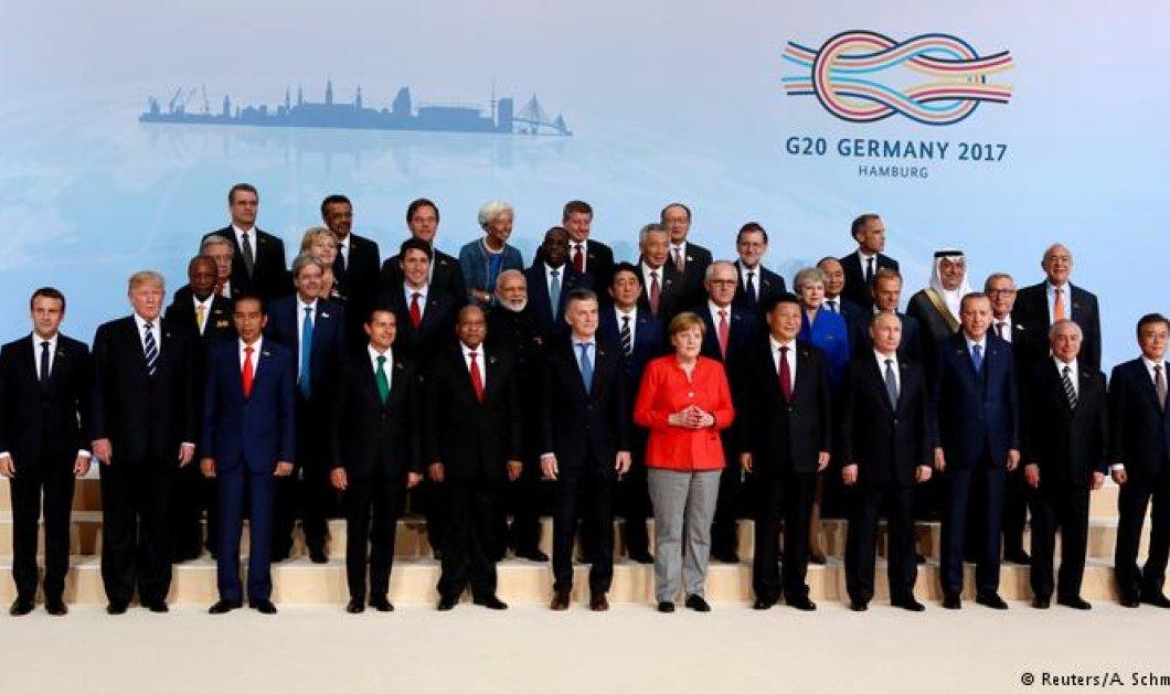 Ξεκίνησε η Σύνοδος Κορυφής του G20:  Χιλιάδες διαδηλωτές στους δρόμους του Αμβούργου και σφοδρές συγκρούσεις με την αστυνομία - Κυρίως Φωτογραφία - Gallery - Video