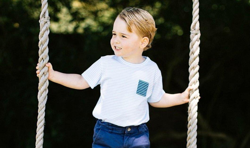 O πριγκιπάκος George έγινε 4! Κέιτ & Γουίλιαμ  δημοσιεύουν το χαρούμενο επίσημο πορτραίτου του μικρού γαλαζοαίματου - Κυρίως Φωτογραφία - Gallery - Video