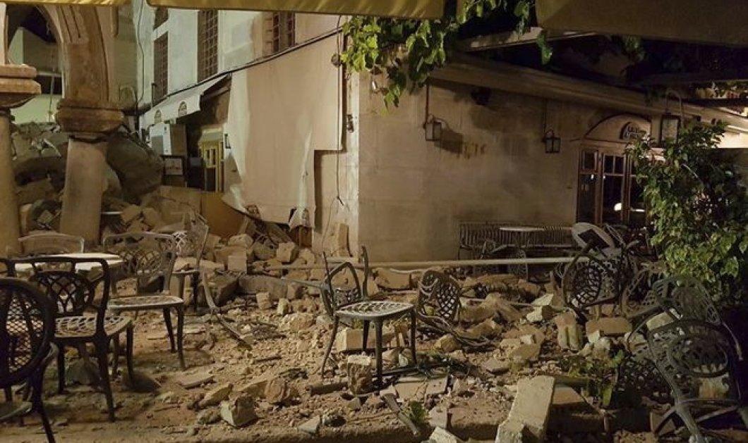 Σεισμός στην Κω: Τι δηλώνουν οι σεισμολόγοι - Συμβουλές του ΟΑΣΠ  - Κυρίως Φωτογραφία - Gallery - Video