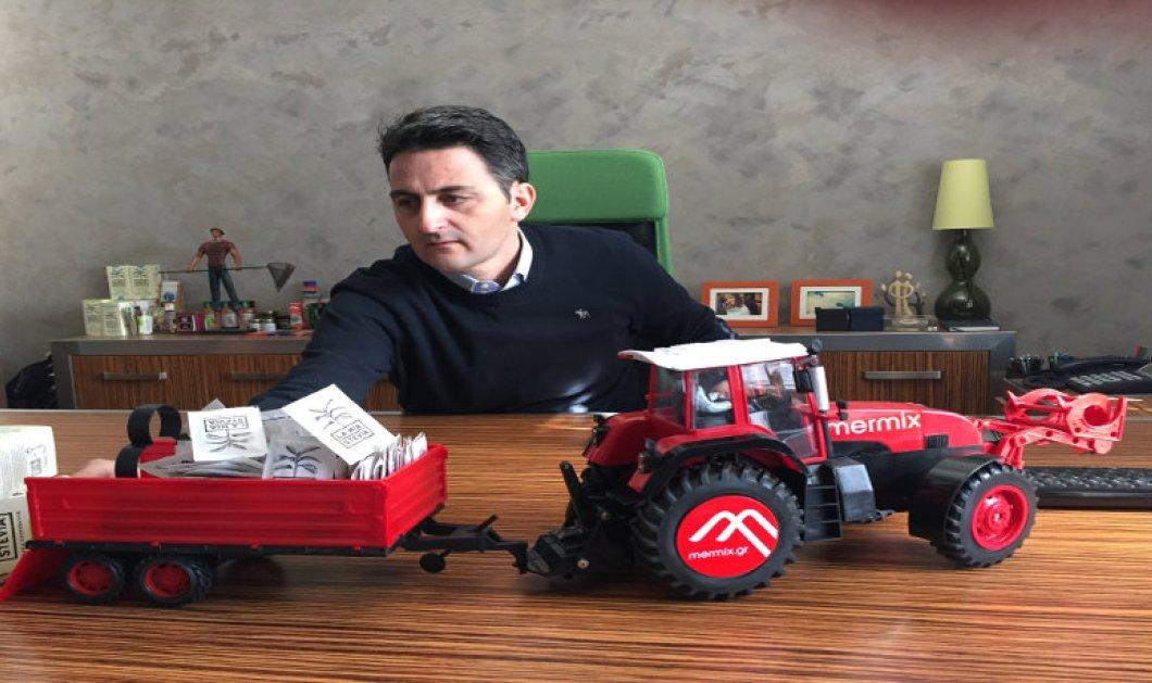 Mermix: Η πρώτη διαδικτυακή πλατφόρμα ανταλλαγής αγροτικών μηχανημάτων είναι ελληνική και λύνει τα χέρια στους αγρότες! - Κυρίως Φωτογραφία - Gallery - Video