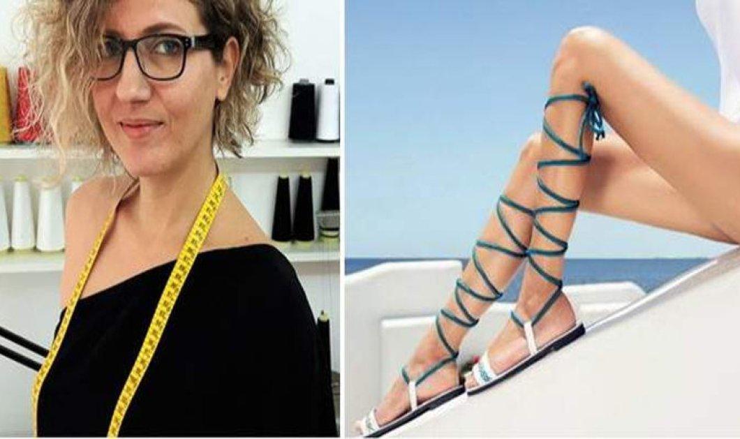 Made in Greece τα Greek chic Handmades & η Ελευθερία Τυράκη: Η ηχολήπτρια έγινε υποδηματοποιός με εξαγωγές στο εξωτερικό - Κυρίως Φωτογραφία - Gallery - Video