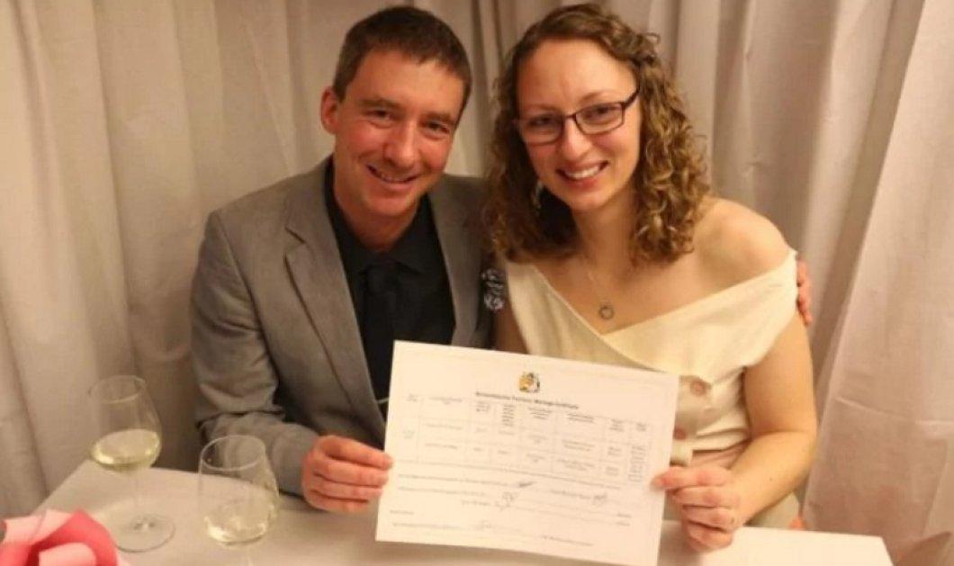 Έγινε ο πρώτος γάμος στην Ανταρκτική - Χωρίς προηγούμενο η ένωση των δύο νεαρών Βρετανών (ΦΩΤΟ-ΒΙΝΤΕΟ) - Κυρίως Φωτογραφία - Gallery - Video