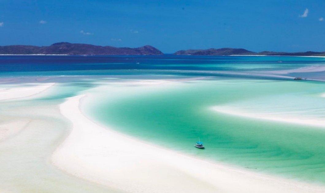 Φωτό βίντεο : ταξίδι στην Αυστραλία & στην πιο λεύκη παραλία του κόσμου με άμμο άσπρη σαν χιόνι! - Κυρίως Φωτογραφία - Gallery - Video