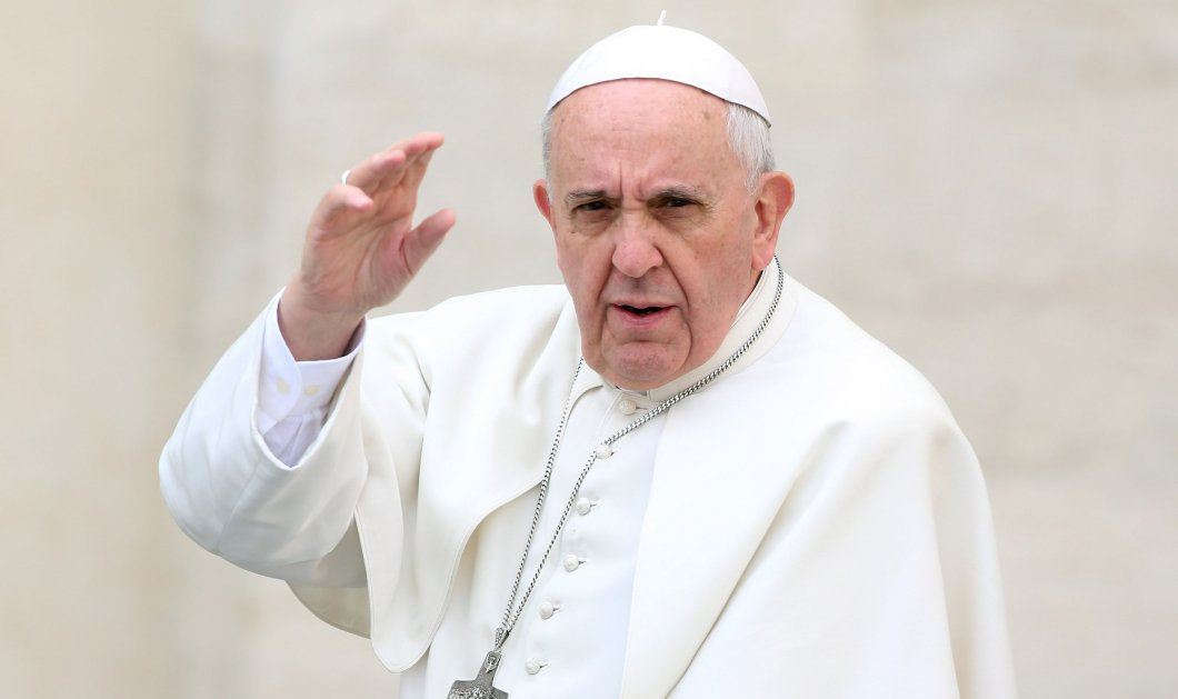 Good news: Ο Πάπας προσφέρει 30.000 ευρώ για τo σχολείο στη Λέσβο που έπεσε από τον σεισμό  - Κυρίως Φωτογραφία - Gallery - Video