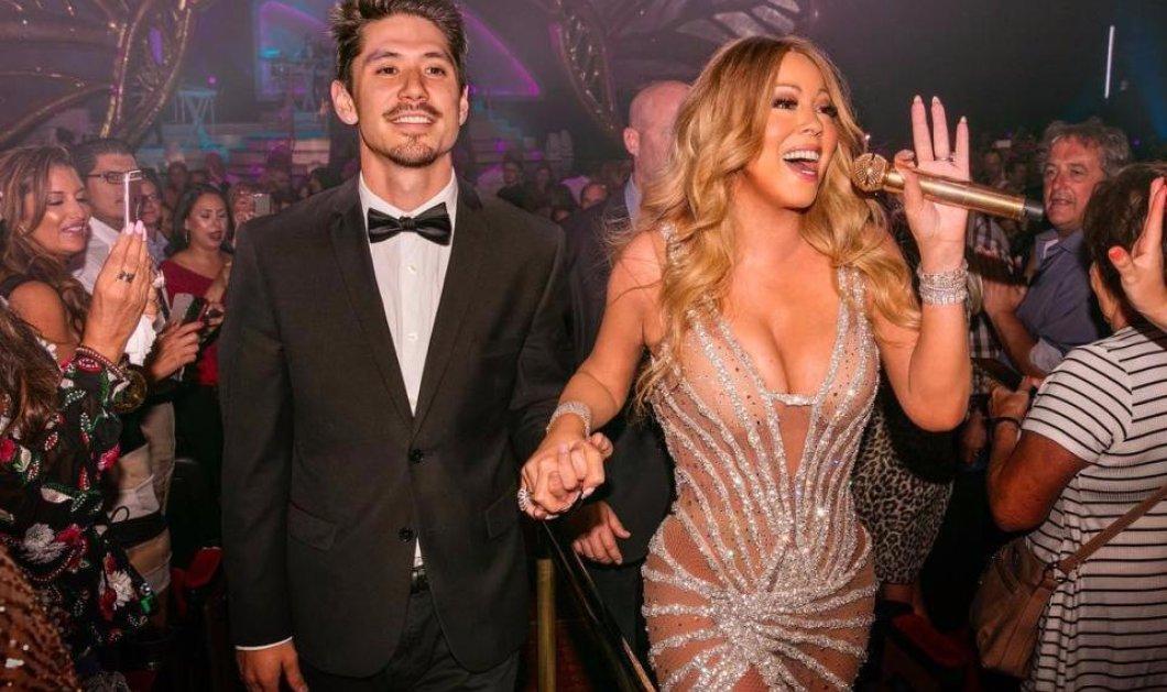 Λαμπερή η Mariah Carey στο Las Vegas: Με καλσόν δίχτυ που τραβάει τα πλουσιότατα κάλλη της πάνω στην σκηνή (ΦΩΤΟ) - Κυρίως Φωτογραφία - Gallery - Video