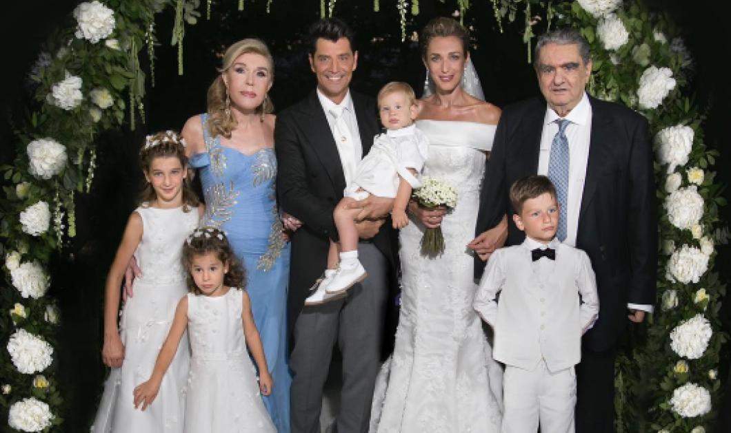 Ο γάμος Σάκη Ρουβά & Κάτιας Ζυγούλη με παρανυφάκια τα παιδιά τους & κουμπάρους Βαρδή & Μαριάννα Βαρδινογιάννη (Φωτό-Βίντεο) - Κυρίως Φωτογραφία - Gallery - Video