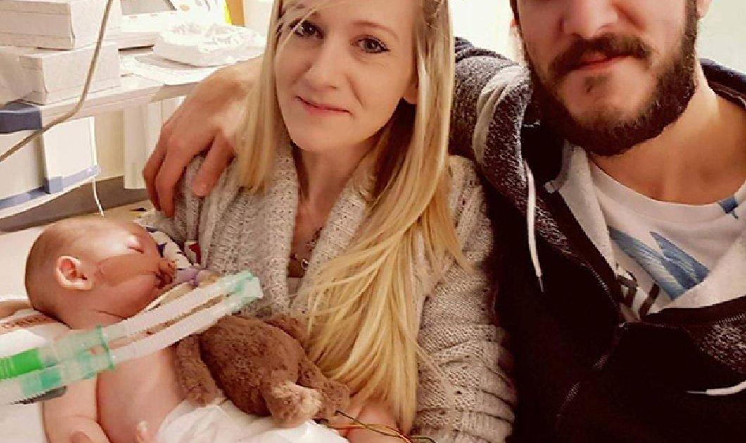 Τελική απόφαση δικαστή: Ο ενός έτους Τσάρλι θα πεθάνει σε κέντρο ανιάτων - Χάθηκε κάθε ελπίδα - ερίζουν γονείς & νοσοκομείο  - Κυρίως Φωτογραφία - Gallery - Video