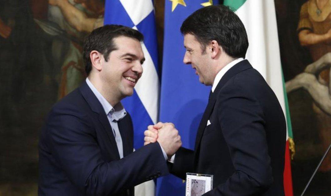 """""""Enough is enough"""" είπε ο Τσίπρας στον Ρέντσι στην 17ωρη διαπραγμάτευση του 2015 - """"Πάψτε να ταπεινώνετε την Ελλάδα"""" - Κυρίως Φωτογραφία - Gallery - Video"""