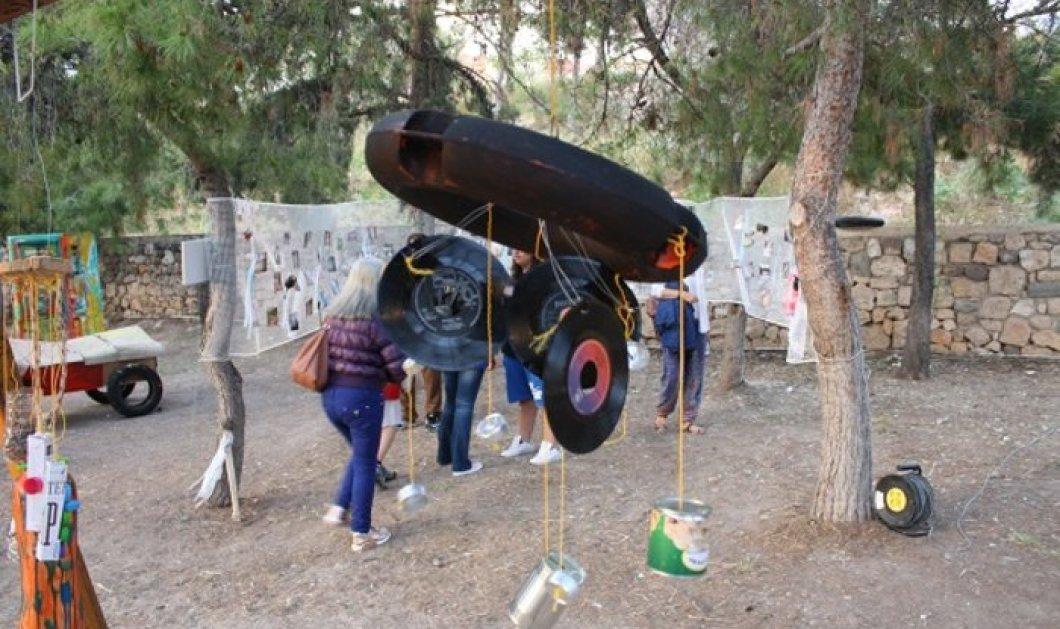 Good news: Τα γυμνασιόπαιδα της Αίγινας έφτιαξαν το πρώτο θερινό σινεμά από σκουπίδια!  - Κυρίως Φωτογραφία - Gallery - Video