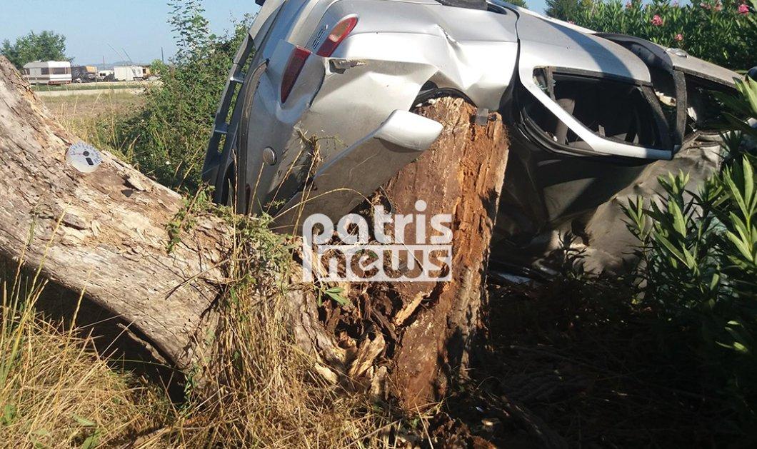 Νεκρός ένας 25χρονος σε τροχαίο δυστύχημα στην Πατρών - Πύργου ανήμερα Δεκαπενταύγουστου - Κυρίως Φωτογραφία - Gallery - Video