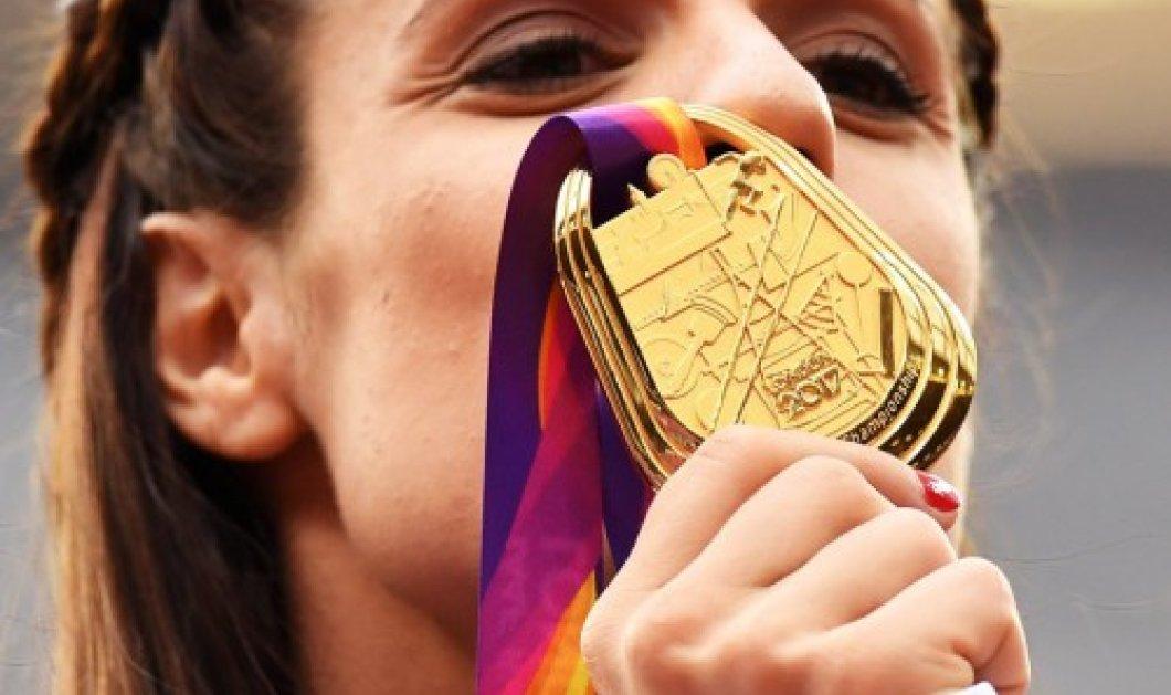 Βίντεο - φωτό: όταν ακούστηκε ο Εθνικός μας Ύμνος στο Λονδίνο & η Κατερίνα Στεφανίδη περήφανη με το νέο της χρυσό της μετάλλιο – η απονομή - Κυρίως Φωτογραφία - Gallery - Video
