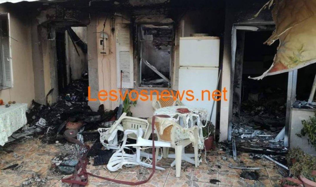 Τραγωδία στη Λέσβο: Η μάνα των δυο αδερφών που κάηκαν προσπάθησε μάταια να βγάλει τα παιδιά της από το φλεγόμενο σπίτι (ΦΩΤΟ) - Κυρίως Φωτογραφία - Gallery - Video