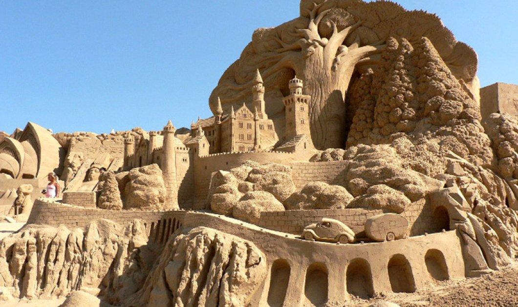 Πώς να χτίζεις εφήμερα αριστουργήματα στην άμμο - Εντυπωσιακοί πύργοι & μεγαλειώδη κάστρα για λίγες ώρες  - Κυρίως Φωτογραφία - Gallery - Video