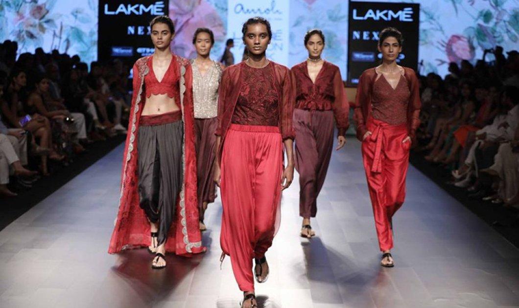 Τα 'χετε δει όλα στη μόδα; Όχι! Οι κολεξιόν σχεδιαστών της Ινδίας θα σας στείλουν αλλού - Κυρίως Φωτογραφία - Gallery - Video