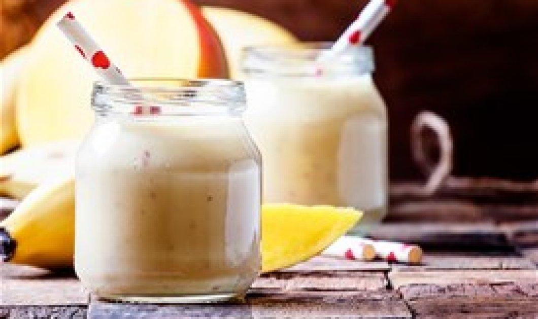 Αντιοξειδωτικός χυμός με λιναρόσπορο & μάνγκο αχλάδι μέντα - βίντεο - Κυρίως Φωτογραφία - Gallery - Video