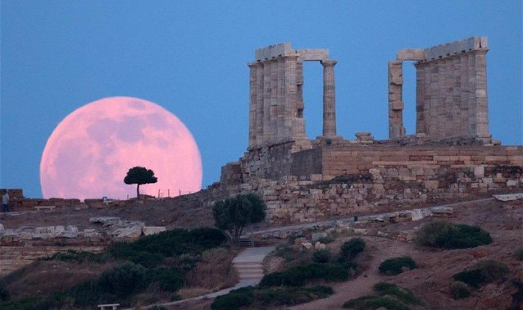 To φεγγάρι πάνω θέ μου ασημένιο τάλιρο: 115 αρχαιολογικοί χώροι ανοικτοί & δωρεάν για να απολαύσετε την πανσέληνο - Κυρίως Φωτογραφία - Gallery - Video