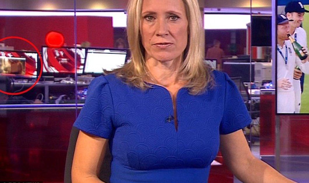 Βίντεο: Τεχνικός στο κοντρόλ του BBC ξέχασε πορνό βιντεάκι την ώρα δελτίου ειδήσεων background της παρουσιάστριας!!!! - Κυρίως Φωτογραφία - Gallery - Video