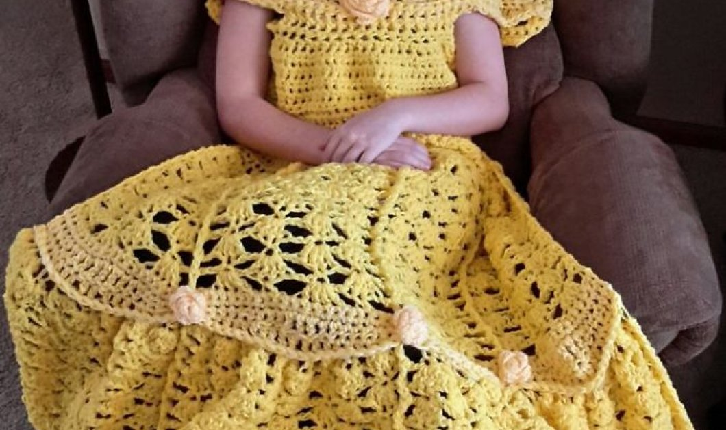 Κοιμηθείτε απαλά σαν Πριγκίπισσες: αυτά τα κουβερτο-νυχτικά φτιαγμένα στο χέρι με το βελονάκι θα σας ενθουσιάσουν – φωτό – βίντεο - Κυρίως Φωτογραφία - Gallery - Video