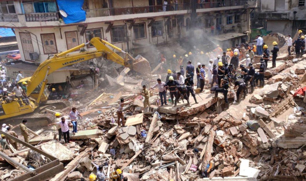 Ινδία: Πενταώροφο κτίριο κατέρρευσε - 9 Νεκροί και δεκάδες παγιδευμένοι (ΦΩΤΟ ΣΥΓΚΛΟΝΙΣΤΙΚΕΣ) - Κυρίως Φωτογραφία - Gallery - Video