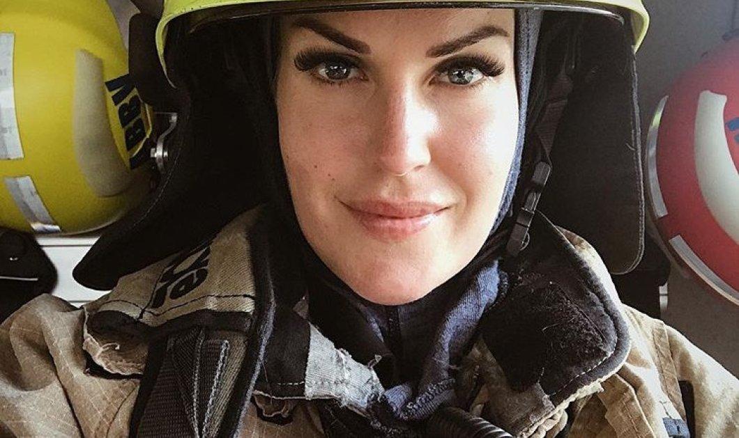 Τop Woman: η Νορβηγίδα πυροσβέστης με υπέροχα πράσινα μάτια, σέξι σώμα - χιλιάδες followers των συμβουλών της - Κυρίως Φωτογραφία - Gallery - Video