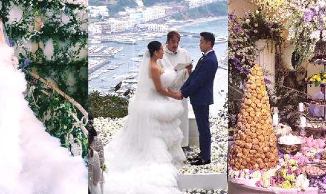 Γάμος με θέμα την λεμονιά: Η ασιάτισσα νύφη blogger έβαλε 3 νυφικά & η πολυτέλεια, η φινέτσα, οι εκπλήξεις είχαν σφραγίδα ιταλική - Κυρίως Φωτογραφία - Gallery - Video