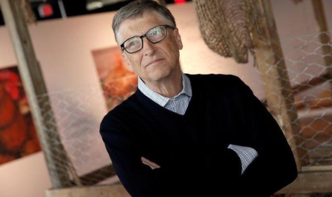 Good news: Ο Μπιλ Γκέιτς δώρισε 4,6 δισ. δολάρια στο φιλανθρωπικό του ίδρυμα  - Κυρίως Φωτογραφία - Gallery - Video