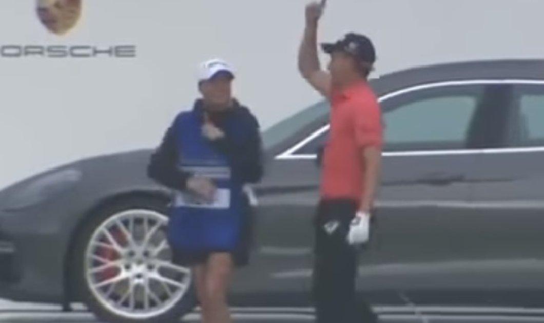 Απίστευτο: Αθλητής του γκολφ έβαλε το μπαλάκι μπάλα κατευθείαν στην τρύπα με μόνο ένα χτύπημα από τα 155 μέτρα (ΒΙΝΤΕΟ) - Κυρίως Φωτογραφία - Gallery - Video