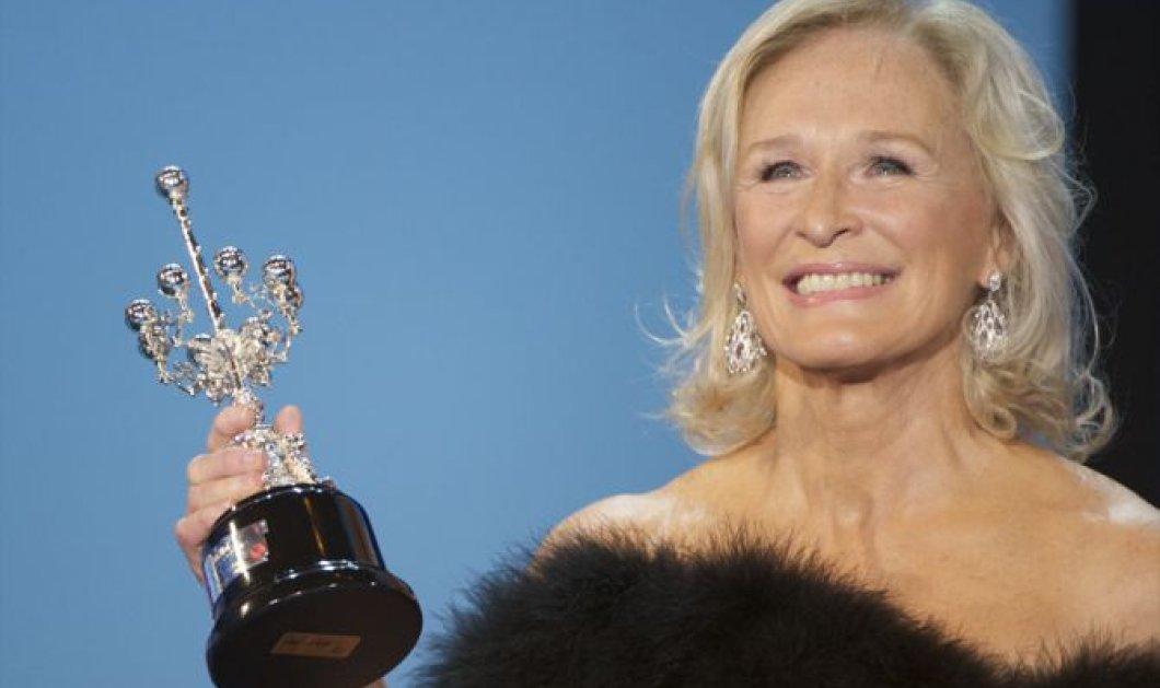 Η Γκλεν Κλόουζ τιμήθηκε με το βραβείο «Κάθριν Χέπμπορν» - Κυρίως Φωτογραφία - Gallery - Video