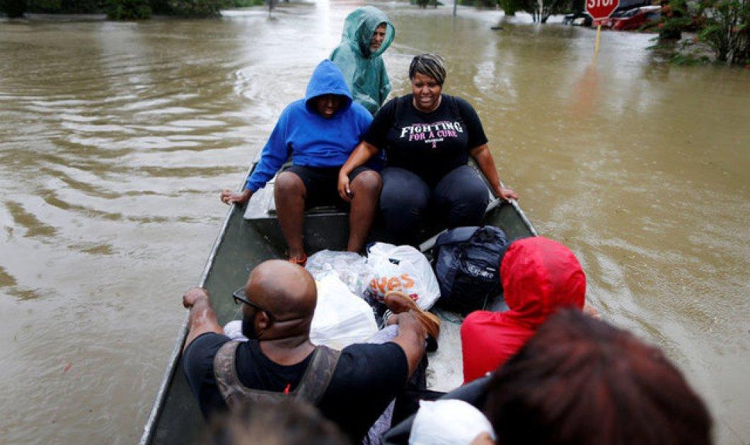 Επτά νεκροί από τον τυφώνα Χάρβεϊ - Απέραντη «θάλασσα» το Τέξας (ΦΩΤΟ-ΒΙΝΤΕΟ) - Κυρίως Φωτογραφία - Gallery - Video