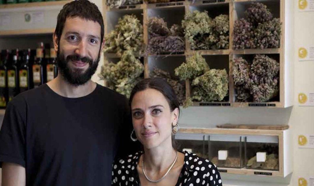 Αποκλειστικό: Made in Greece το Isle of Olive: Η Πωλίνα κι ο Γρηγόρης μυούν τους κατοίκους της Αγγλίας σε πάνω από 300 ελληνικές γεύσεις, αρώματα & άριστα προϊόντα - Κυρίως Φωτογραφία - Gallery - Video