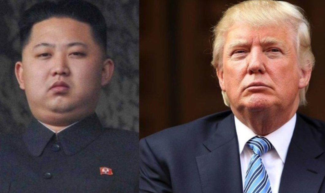 Σκληρό πολεμικό πόκερ ανάμεσα σε ΗΠΑ και Β. Κορέα: Ο Τραμπ απειλεί με φωτιά και οργή & ο Κιμ με επίθεση στη νήσο Γκουάμ - Κυρίως Φωτογραφία - Gallery - Video
