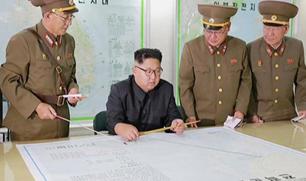 Τον ευλόγησε η Παναγία ..... Ο Κιμ αναστέλλει τα σχέδια για άμεση εκτόξευση πυραύλων προς το Γκουάμ  - Κυρίως Φωτογραφία - Gallery - Video