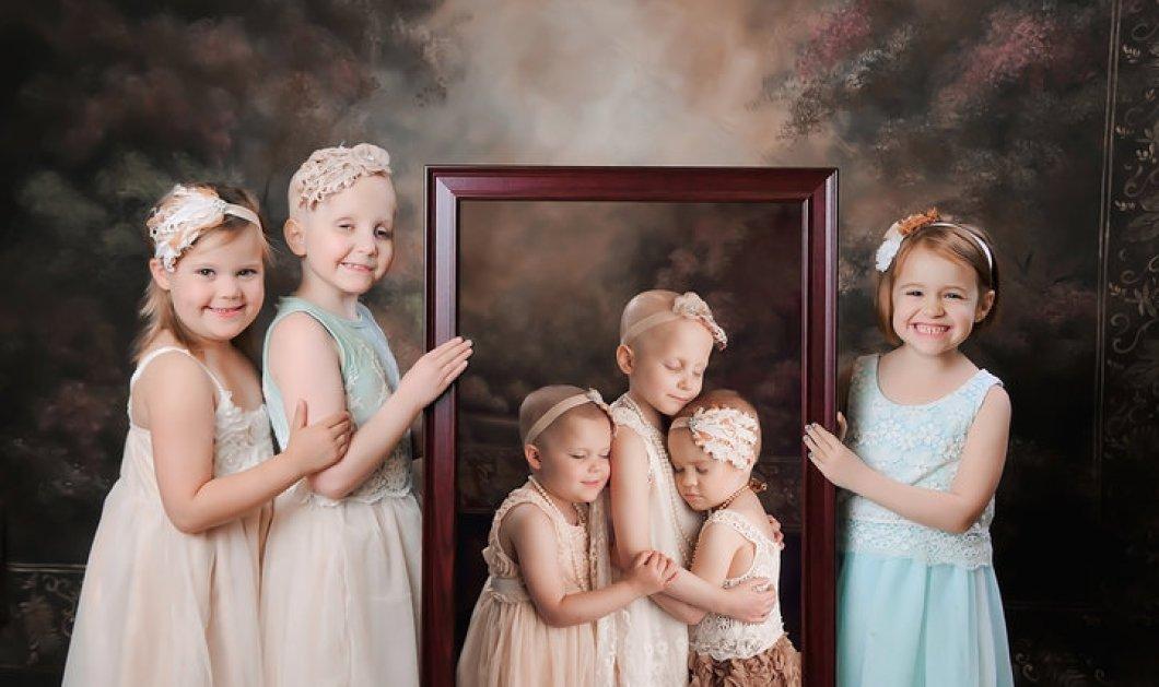 Story of the day: 3 μικρές - μεγάλες νικήτριες της ζωής - βγήκαν από καρκίνο και φωτογραφίζονται χωρίς & με τα μαλλάκια τους - Κυρίως Φωτογραφία - Gallery - Video