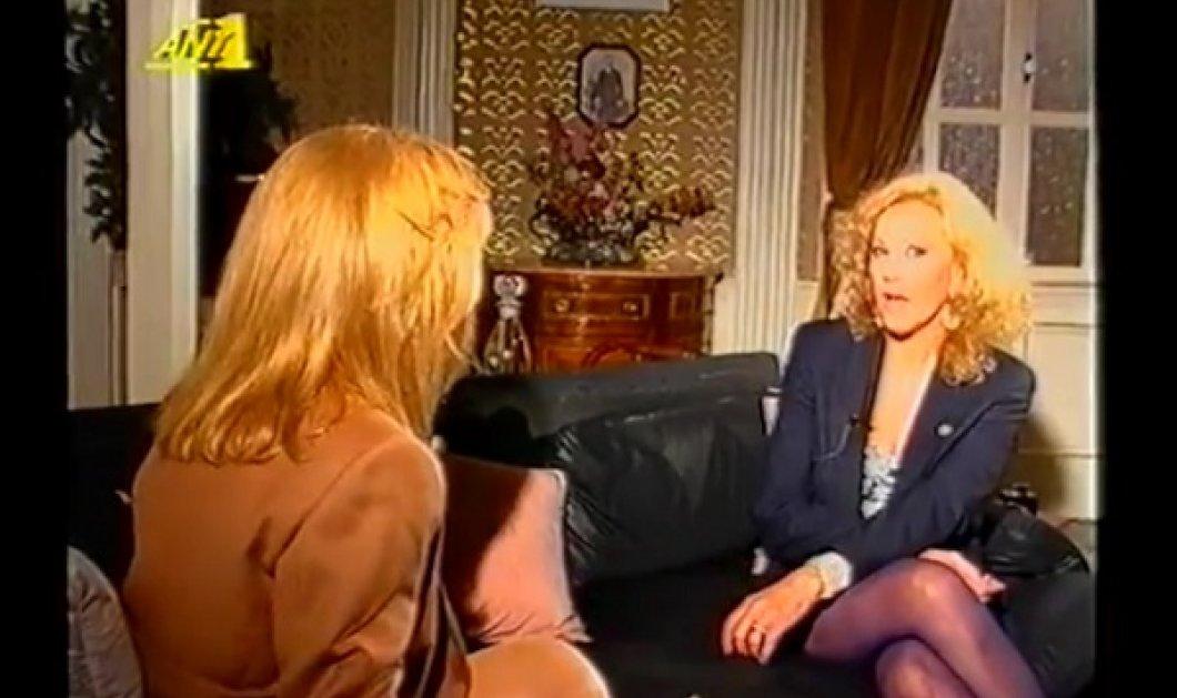Εκπληκτικό συγκινητικό βίντεο: Η Αλίκη Βουγιουκλάκη παίρνει συνέντευξη από τη Ζωή Λάσκαρη - κούκλες και οι δυο  - Κυρίως Φωτογραφία - Gallery - Video