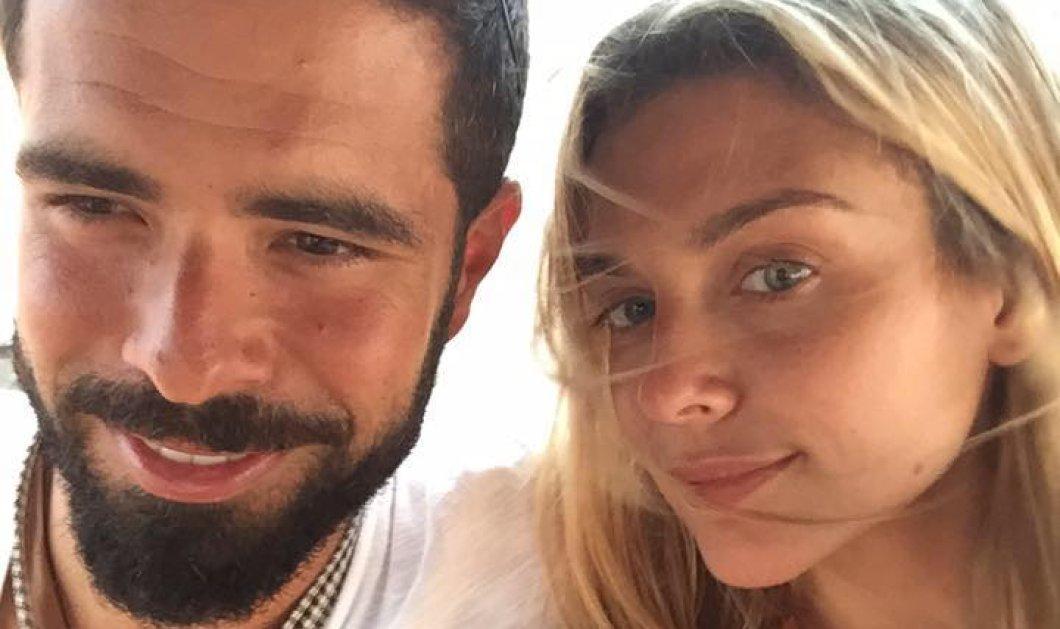 Μαριάννα Γουλανδρή - Φίλιππος Λαιμός: με παγωτό χωνάκι απολαμβάνουν το πρώτο καλοκαίρι παντρεμένοι - Κυρίως Φωτογραφία - Gallery - Video
