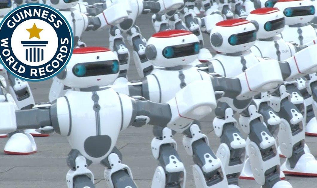 Ρεκόρ Γκίνες: 1069 ρομπότ χόρεψαν ταυτόχρονα (ΒΙΝΤΕΟ) - Κυρίως Φωτογραφία - Gallery - Video