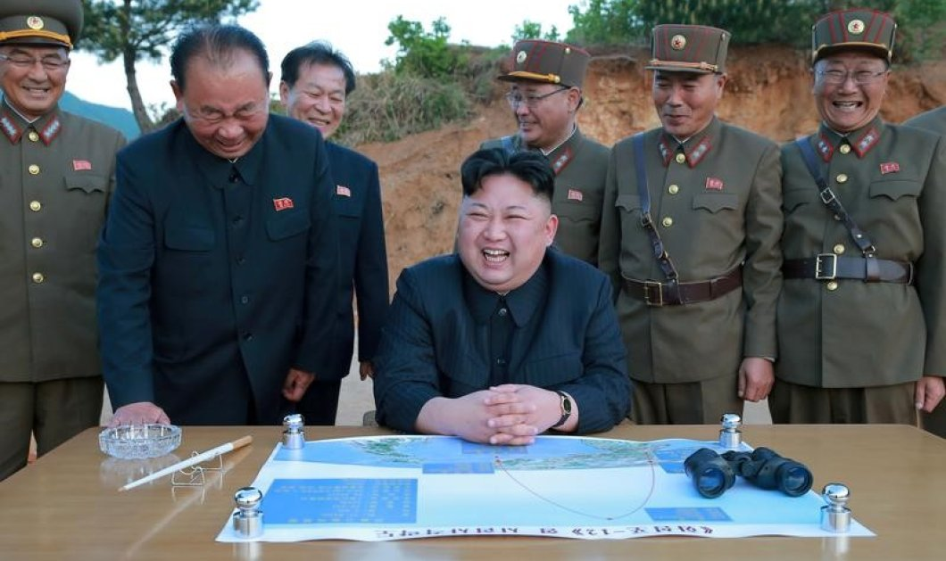 Κιμ Γιόνγκ Ουν βάζει σε περιπέτεια όλο τον πλανήτη: Θα χτυπήσω το Γκουάμ - Η αντίδραση του ΟΗΕ - Κυρίως Φωτογραφία - Gallery - Video