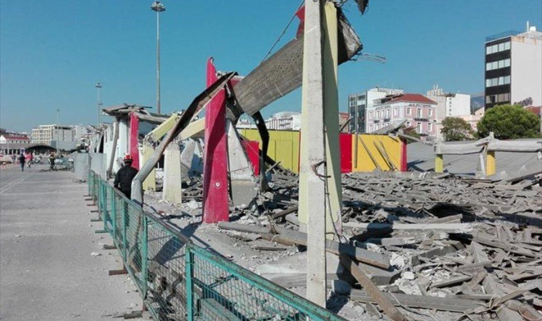 Πάτρα: Ένας νεκρός από κατάρρευση στεγάστρου σε κτήριο στο παλιό λιμάνι - Κυρίως Φωτογραφία - Gallery - Video