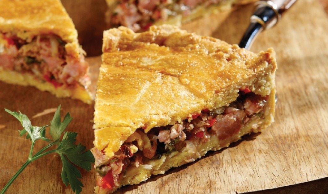 Η συνταγή της ημέρας: Λαχταριστή πίτα σπετσοφάι από την Αργυρώ Μπαρμπαρίγου - Κυρίως Φωτογραφία - Gallery - Video