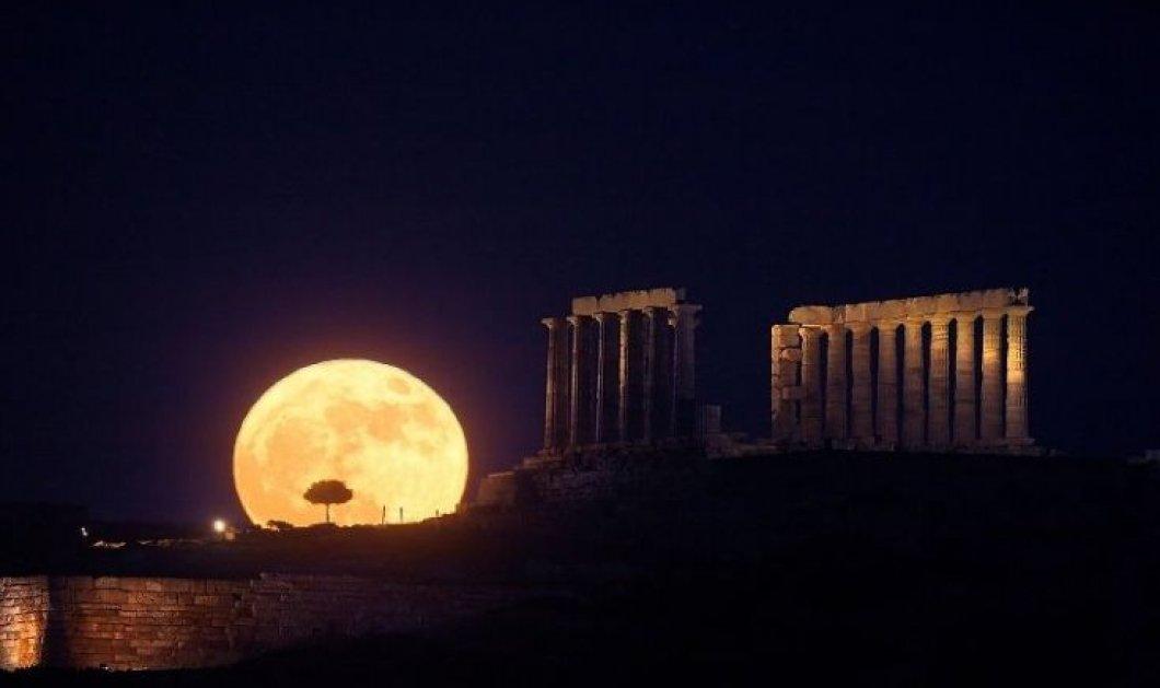 Good news: 75.000 άνθρωποι απόλαυσαν την πανσέληνο του Αυγούστου στους αρχαιολογικούς χώρους της Ελλάδας - Κυρίως Φωτογραφία - Gallery - Video