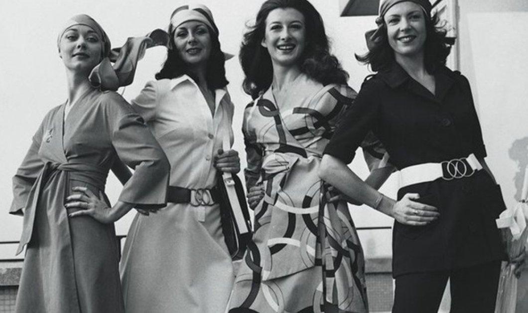 Η Μαίρη Κατράντζου με ενθουσιασμό: Αποθεώνει τις vintage στολές της Ολυμπιακής με υπογραφή Γιάννη Τσεκλένη - Κυρίως Φωτογραφία - Gallery - Video