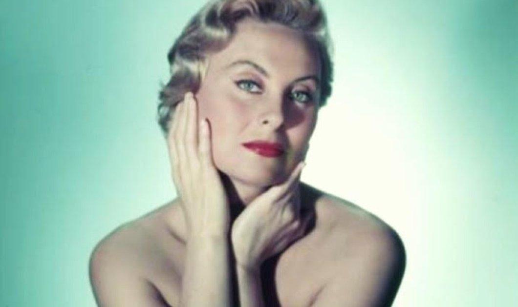 Vintage beauty pics: Η Μισέλ Μοργκάν είχε τα ωραιότερα μάτια του παγκόσμιου σινεμά - έζησε 100 χρόνια! - Κυρίως Φωτογραφία - Gallery - Video