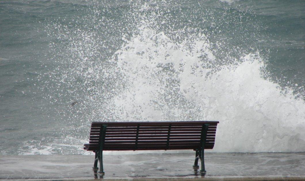 Καιρός: Ισχυροί άνεμοι στα πελάγη - Γενικό απαγορευτικό από Ραφήνα & Λαύριο - Κυρίως Φωτογραφία - Gallery - Video