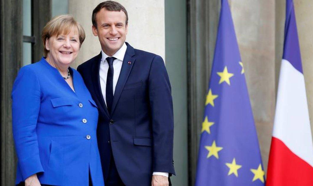 A. Μέρκελ: Υπάρχει μια ευρεία συναίνεση μεταξύ της Γερμανίας και της Γαλλίας - Κυρίως Φωτογραφία - Gallery - Video