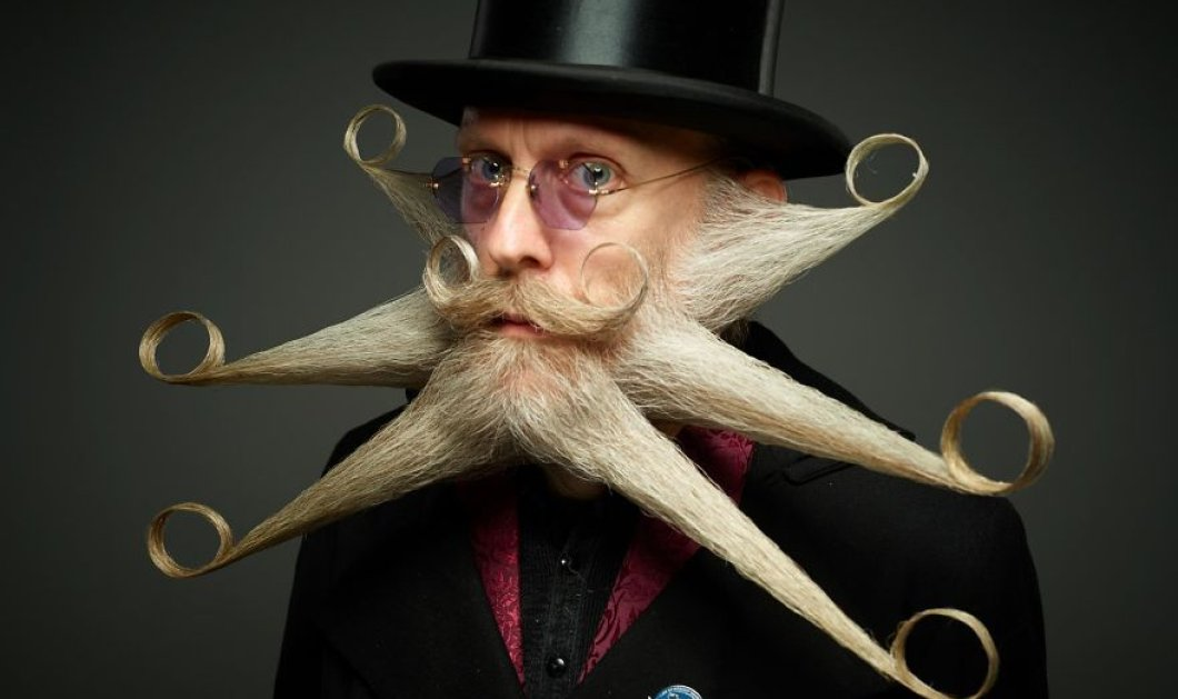 Τα 10 καλύτερα μουστάκια και γένια στον κόσμο: οι νικητές του 2017 World Beard And Mustache Championship  - Κυρίως Φωτογραφία - Gallery - Video